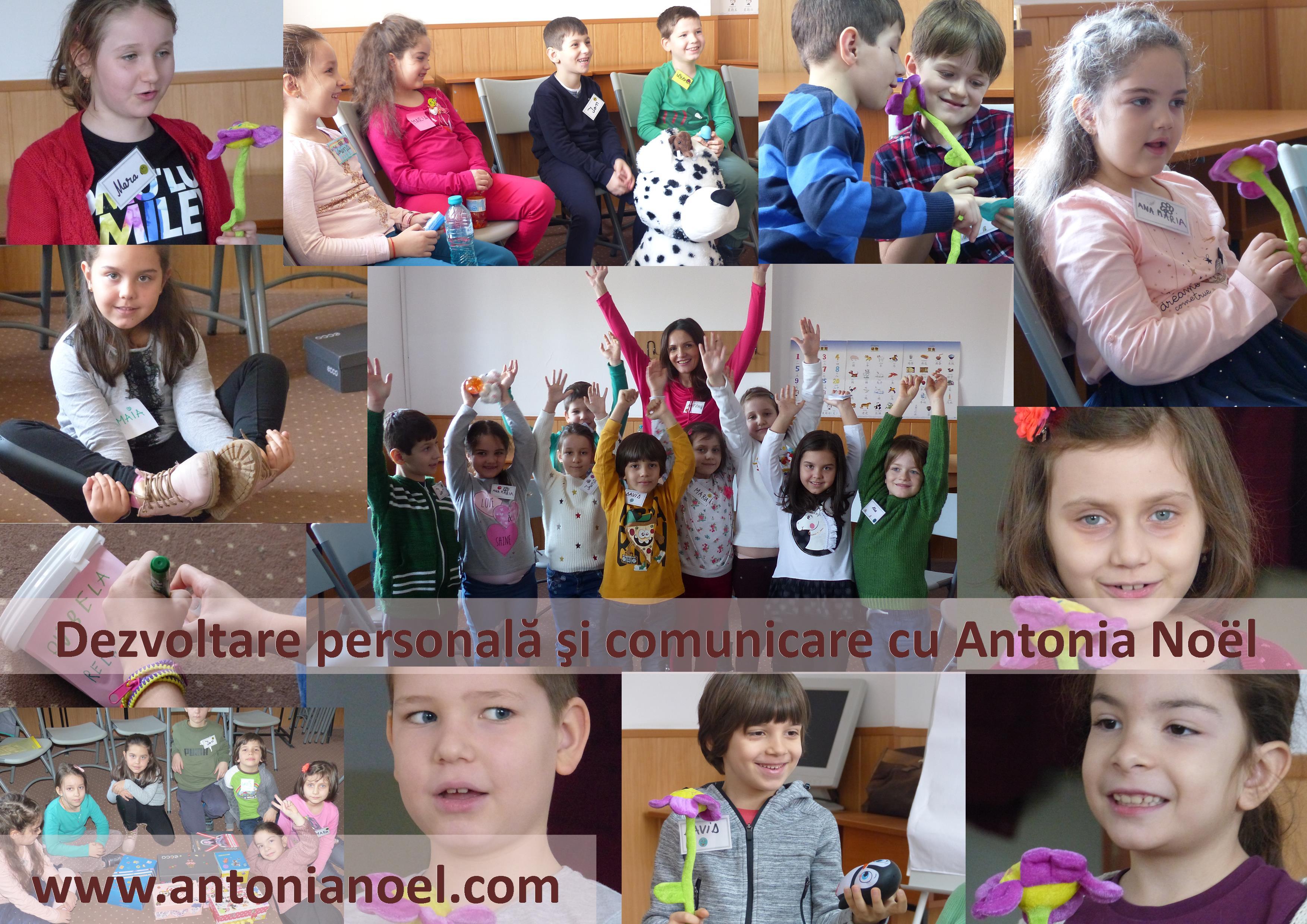 ANTONIA NOEL dezvoltare personala copii